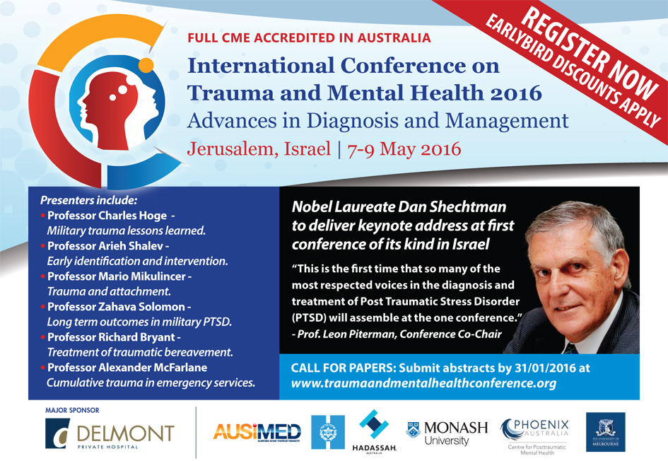 Trauma and mental health conference